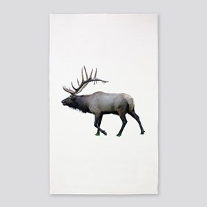 Willow Wapiti elk Area Rug