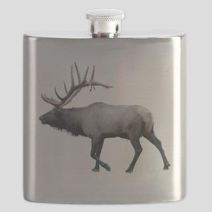 Willow Wapiti elk Flask