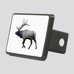 Willow Wapiti elk Rectangular Hitch Cover