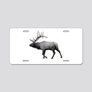 Willow Wapiti elk Aluminum License Plate