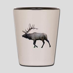 Willow Wapiti elk Shot Glass