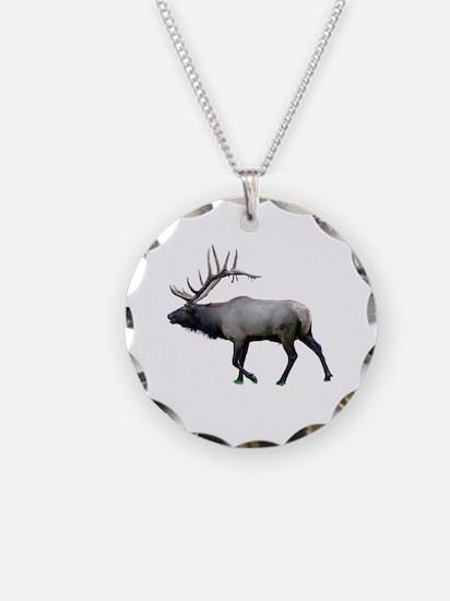 Willow Wapiti elk Necklace