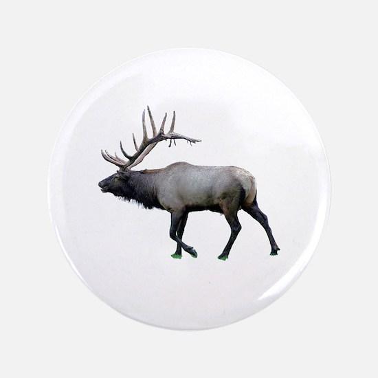 Willow Wapiti elk Button