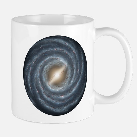 Milky Way Map Mug