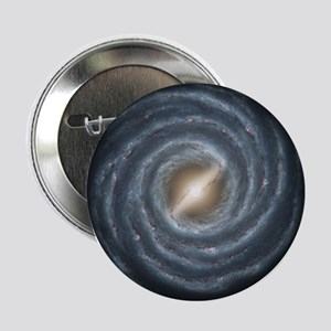 """Milky Way Map 2.25"""" Button"""