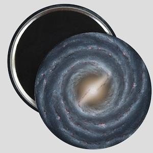 Milky Way Map Magnet