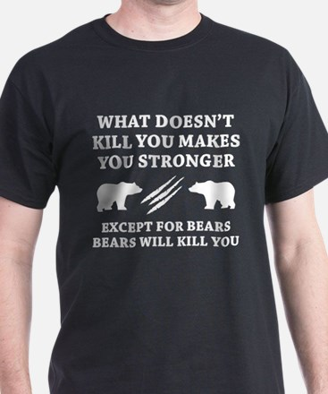 Except For Bears T-Shirt