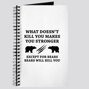 Except For Bears Journal