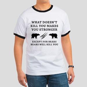 Except For Bears Ringer T