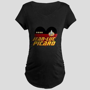 Love Jean-Luc Picard Maternity T-Shirt