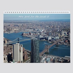 New York For The Locals Ii Wall Calendar