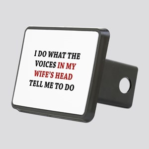 Tell Me To Do Rectangular Hitch Cover