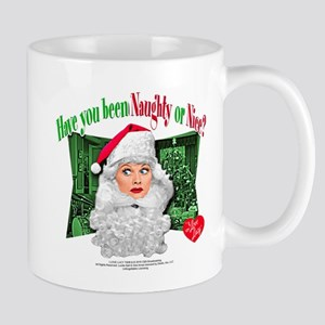 I Love Lucy: Naughty or Nice Mug