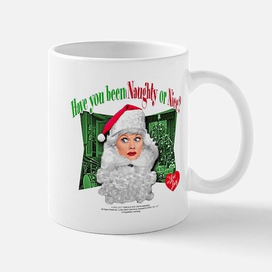 I Love Lucy: Naughty or Nice Mug