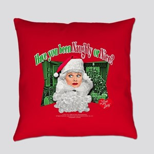 I Love Lucy: Naughty or Nice Everyday Pillow