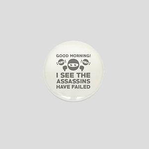 Good Morning Mini Button