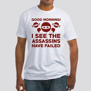 Good Morning Fitted T-Shirt