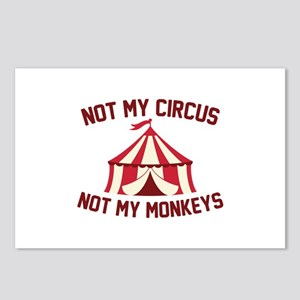 Not My Circus Postcards (Package of 8)