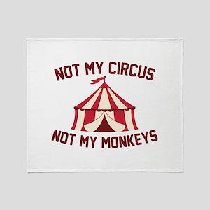Not My Circus Stadium Blanket