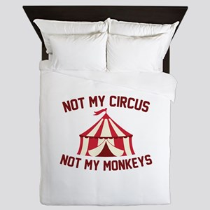 Not My Circus Queen Duvet