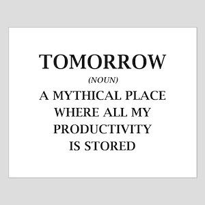 Tomorrow Small Poster