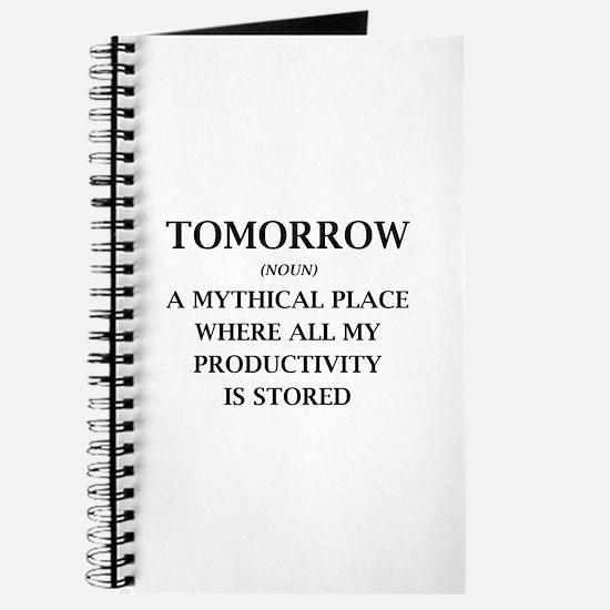 Tomorrow Journal