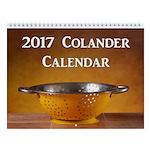 2017 Colander Wall Calendar