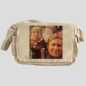 Donald and Hillary Messenger Bag