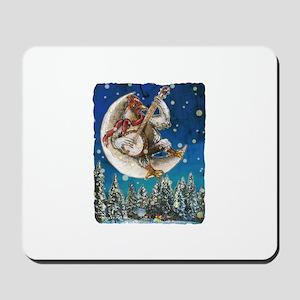 Banjo Chicken Moon Mousepad