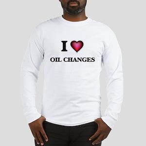 I love Oil Changes Long Sleeve T-Shirt