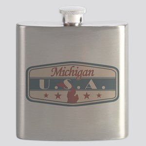 Michigan, USA Flask