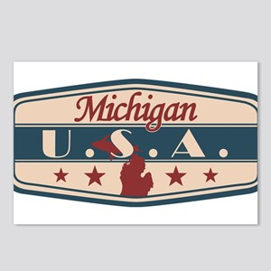 Michigan, USA Postcards (Package of 8)