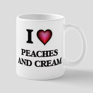 I love Peaches And Cream Mugs