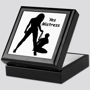 Yes Mistress #0022 Keepsake Box