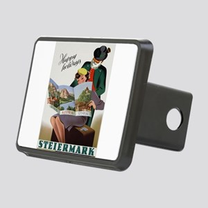 Vintage poster - Steiermar Rectangular Hitch Cover