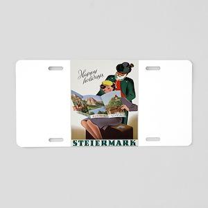 Vintage poster - Steiermark Aluminum License Plate