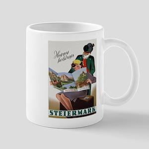 Vintage poster - Steiermark Mugs