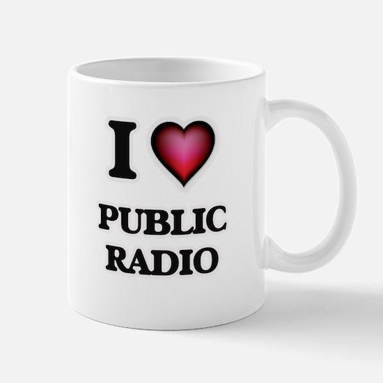 I love Public Radio Mugs