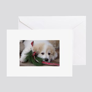 Pyr Pup -- Greeting Cards