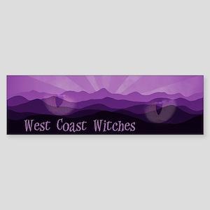 West Coast Witches Bumper Sticker