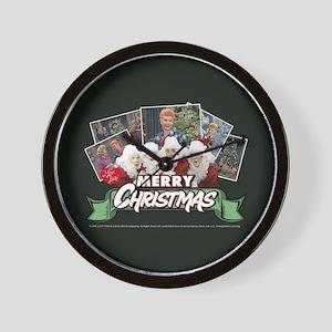 I Love Lucy: Christmas Wall Clock