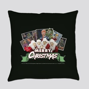 I Love Lucy: Christmas Everyday Pillow