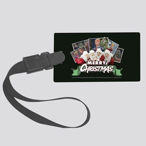 I Love Lucy: Christmas Large Luggage Tag