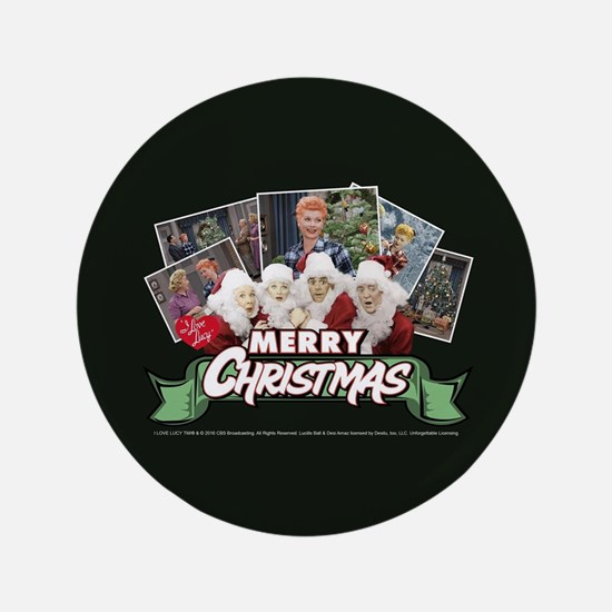 I Love Lucy: Christmas Button
