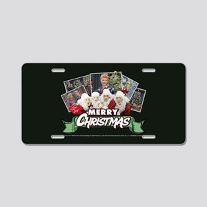 I Love Lucy: Christmas Aluminum License Plate