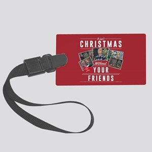 I Love Lucy: Without Friends Large Luggage Tag