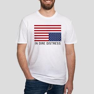 Upside Down Flag Distress T-Shirt