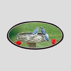 Blue Jay Lovebirds Patch