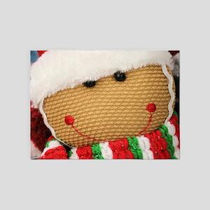 Gingerbread 5'x7'Area Rug