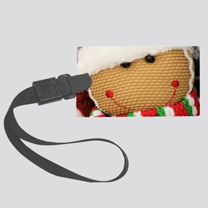 Gingerbread Luggage Tag